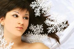 Christmas snow Royalty Free Stock Image