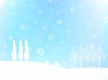 Christmas snow background Royalty Free Stock Photo