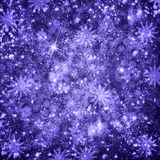 Christmas snow background royalty free stock photos