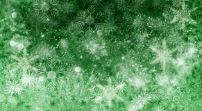 Christmas snow background Royalty Free Stock Photography