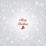 Christmas snow background. Vector. Socks Stock Images