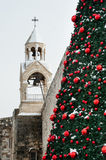 Christmas snow in Bethlehem Royalty Free Stock Photography