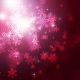 Christmas Snow Fall Royalty Free Stock Image