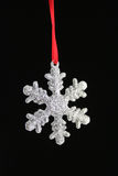 Christmas Snow Flake Stock Photography