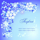 Christmas  snow flakes Royalty Free Stock Image