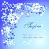 Christmas  snow flakes Royalty Free Stock Image