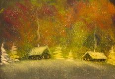 Christmas Snow Royalty Free Stock Photos