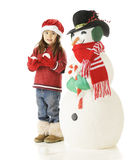 Christmas Snow Fun Royalty Free Stock Photos