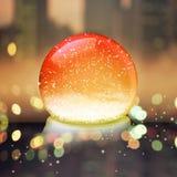 Christmas snow globe Royalty Free Stock Photos
