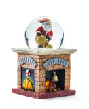 Christmas snow globe Stock Image
