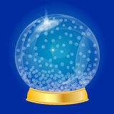 Christmas snow globe Royalty Free Stock Photography