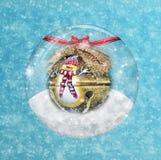Christmas Snow Globe Stock Photos