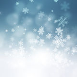 Christmas Snow Holiday Background Royalty Free Stock Photos