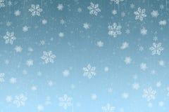 Christmas Snow scene card Royalty Free Stock Photo