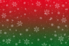 Christmas Snow scene card Stock Images