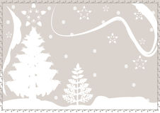 Christmas snow winter background Royalty Free Stock Image
