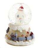 Christmas snowball stock image