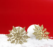 Christmas snowballs Royalty Free Stock Images