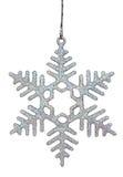 Christmas snowflake. On white background Royalty Free Stock Image