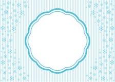 Christmas snowflake applique  background. Royalty Free Stock Image