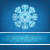 Christmas snowflake applique background. + EPS8. Christmas snowflake applique vector background. + EPS8 vector file Royalty Free Illustration