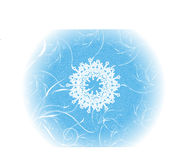 Christmas snowflake background. Grunge paint christmas snowflake background Stock Images