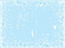 Christmas snowflake background Royalty Free Stock Image