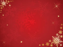 Christmas snowflake background Stock Photos
