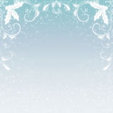 Christmas Snowflake Background royalty free stock photography