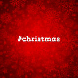 Christmas snowflake background Royalty Free Stock Images
