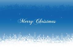 Christmas snowflake background illustration Stock Photo