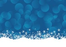 Christmas snowflake background. Christmas background with snowflakes design stock illustration