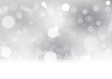 Christmas with snowflake background vector illustration Stock Images