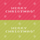 Christmas snowflake border Royalty Free Stock Photo