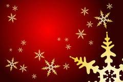 Christmas Snowflake Decoration Royalty Free Stock Photos