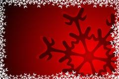 Christmas Snowflake Decoration Stock Photography