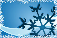 Christmas Snowflake Decoration Royalty Free Stock Image