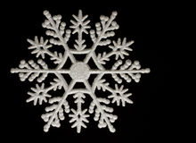 Christmas snowflake decoration Stock Image