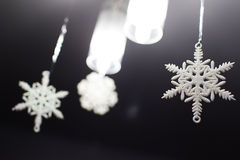 Christmas snowflake decoration Stock Photography