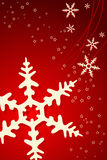 Christmas Snowflake Decoration Stock Images