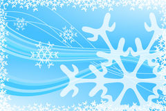 Christmas Snowflake Decoration. Vector illustration of Christmas Snowflake Decoration Royalty Free Stock Photos