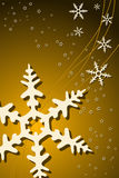 Christmas Snowflake Decoration. Vector illustration of Christmas Snowflake Decoration Royalty Free Stock Images