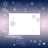 Christmas snowflake Royalty Free Stock Images