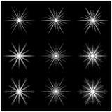 Christmas snowflake, frozen flake silhouette icon, symbol, design Royalty Free Stock Photo