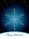 Christmas snowflake Royalty Free Stock Photography