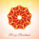 Christmas snowflake illustration. Stock Photos