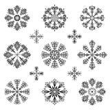 Christmas snowflake illustration. Isolated on white background Royalty Free Stock Images