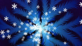 Christmas Snowflake stock video footage