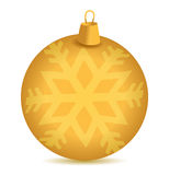 Christmas snowflake ornament Royalty Free Stock Photo