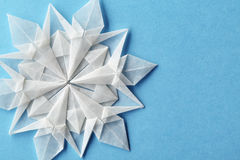 Christmas snowflake paper 3d Stock Photo